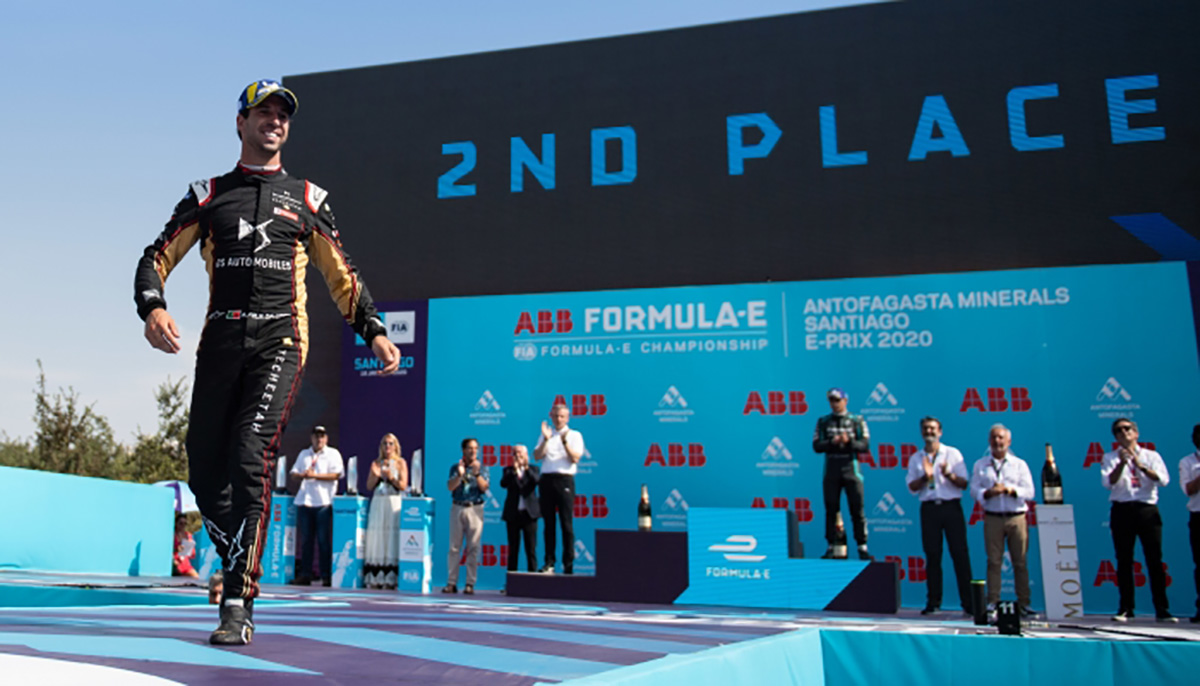 ANTONIO FELIX DA COSTA SECURES FIRST PODIUM WITH DS TECHEETAH