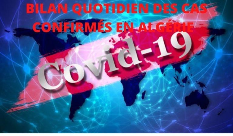 Coronavirus : 262 nouveaux cas, 216 guérisons et 7 décès ces dernières 24h en Algérie  - Algérie