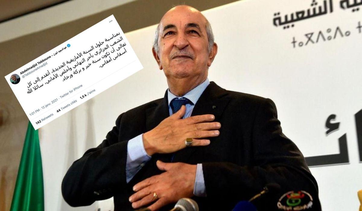 Le président de la République félicite le peuple algérien à l'occasion du Nouvel An amazigh - Algérie