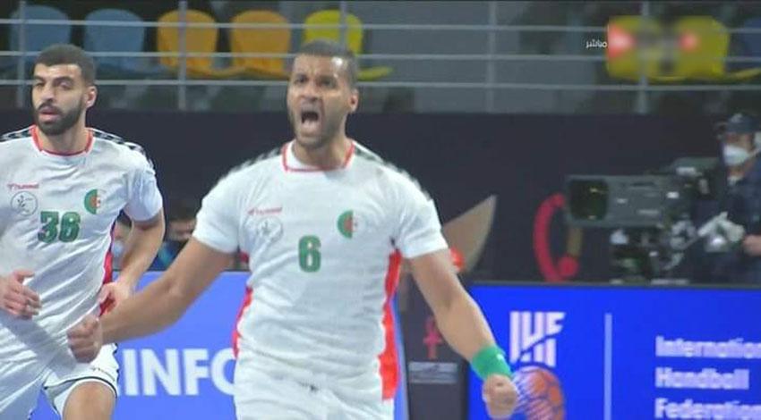 Handball / Mondial-2021 (tour principal/Gr III) : défaite de l'Algérie  devant la France (26-29) - Algérie