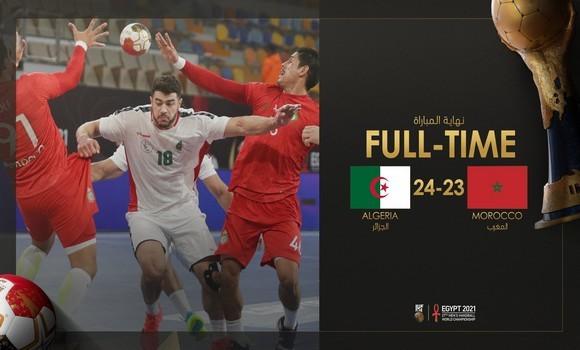 Mondial de Handball: l'Algérie revient de loin et bat le Maroc (24-23) - Algérie