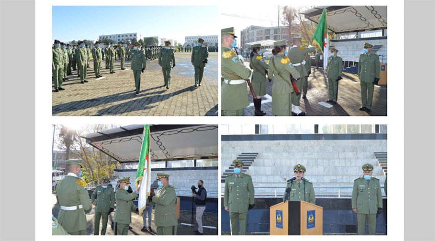 Le Général Serir Aomar installé dans ses fonctions de commandant de l'Ecole militaire polytechnique - Algérie