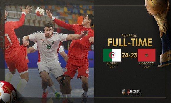 Hand / Mondial-2021 (Gr. F) : l'Algérie revient de loin et bat le Maroc - Algérie