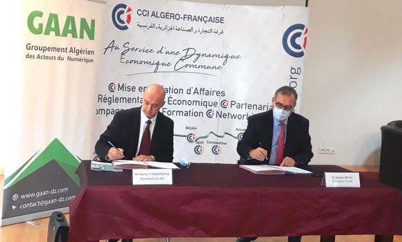 Accord CCIAF-GAAN pour l'exportation des services numériques algériens - Algérie