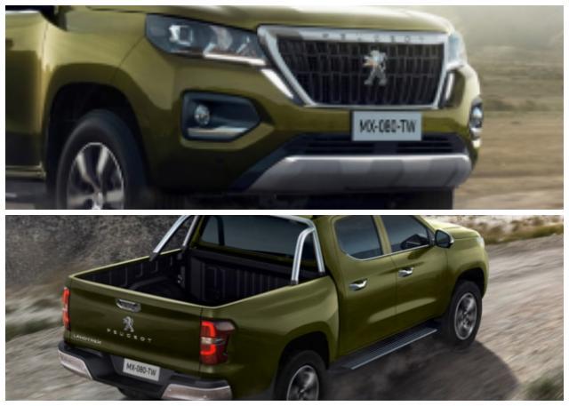 Le nouveau Peugeot pickup Landtrek à l'assaut du Maghreb en attendant l'Algérie… - Algérie