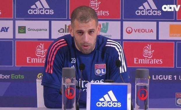 OL – Slimani : «Mon job c'est de marquer. Je me donne à fond» - Algérie