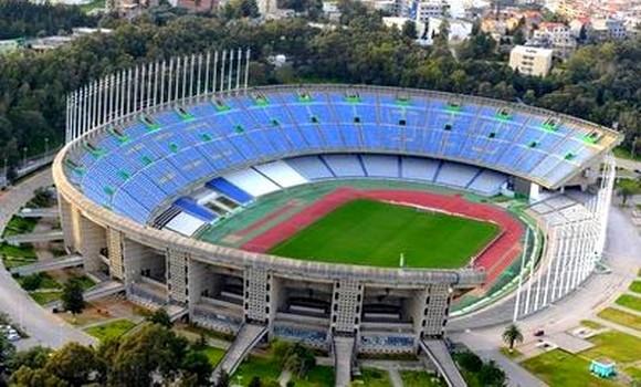 LDC: Encombrement au stade du 5-Juillet d'Alger - Algérie