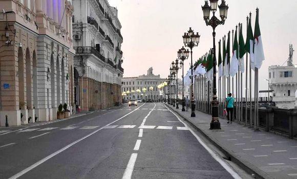 Réaménagement des horaires de confinement partiel à Alger - Algérie