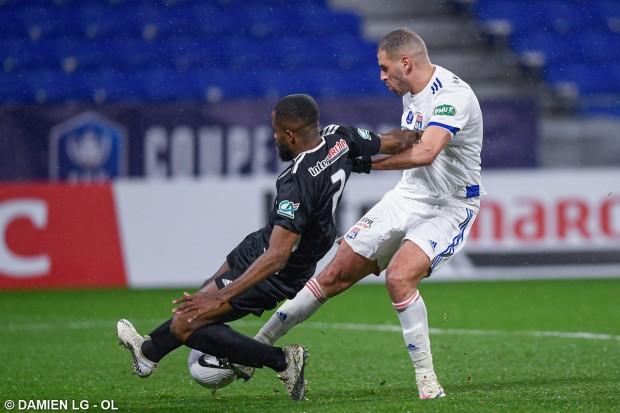 OL : Du très bon Slimani lors de la victoire face à Ajaccio. Il est élu homme du match - Algérie