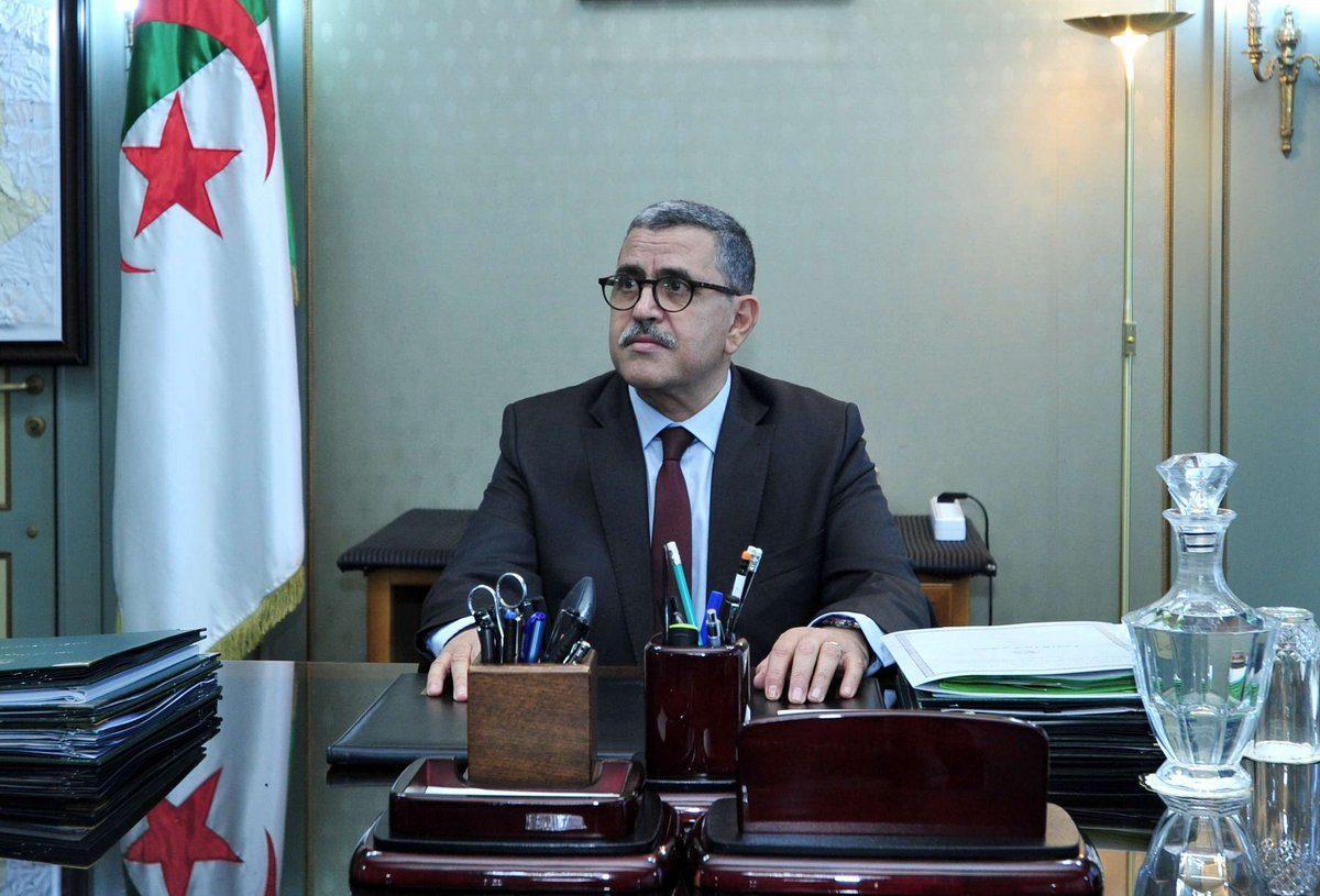 Abdelaziz Djerad préside une réunion du gouvernement - Algérie