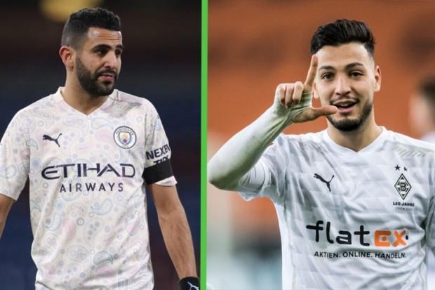 Borussia M'gladbach-Man City : Bensebaini titulaire. Mahrez sur le banc - Algérie