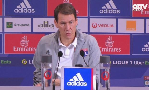 OL : Pour Rudi Garcia, Slimani a une certaine qualité au dessus de la moyenne - Algérie
