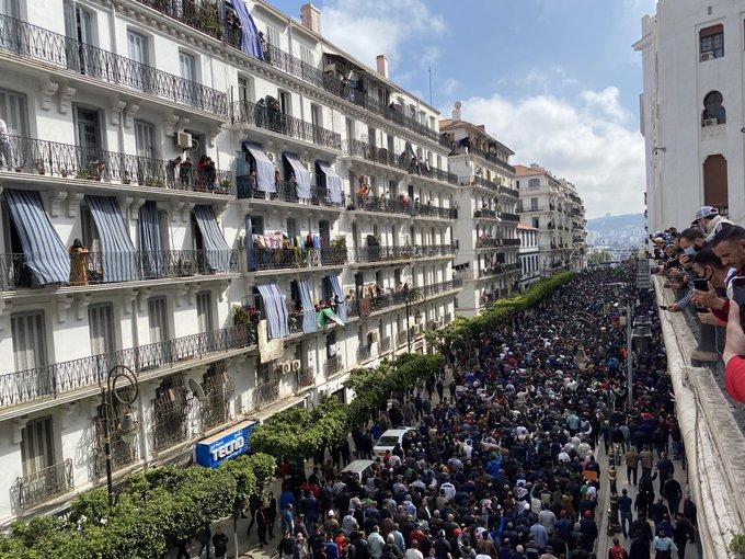 Hirak : début de la marche à Alger - Algérie