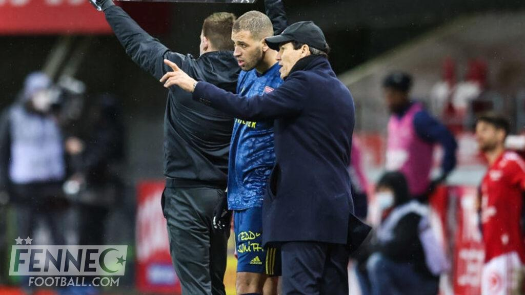 Rudi Garcia a mis les choses au clair avec Slimani - Algérie