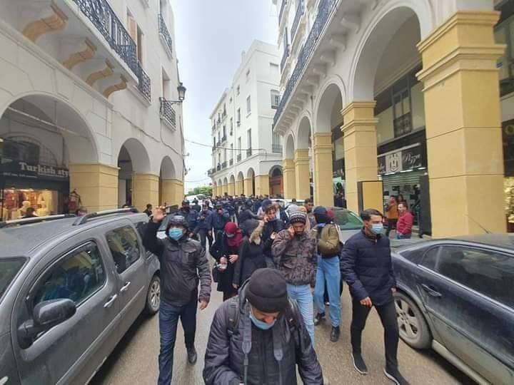 Début de la marche hebdomadaire des étudiants à Alger - Algérie