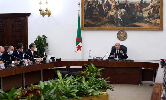 Le président Tebboune préside une réunion du Conseil des ministres - Algérie