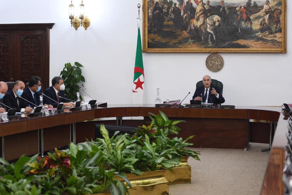Communiqué du Conseil des ministres - Algérie