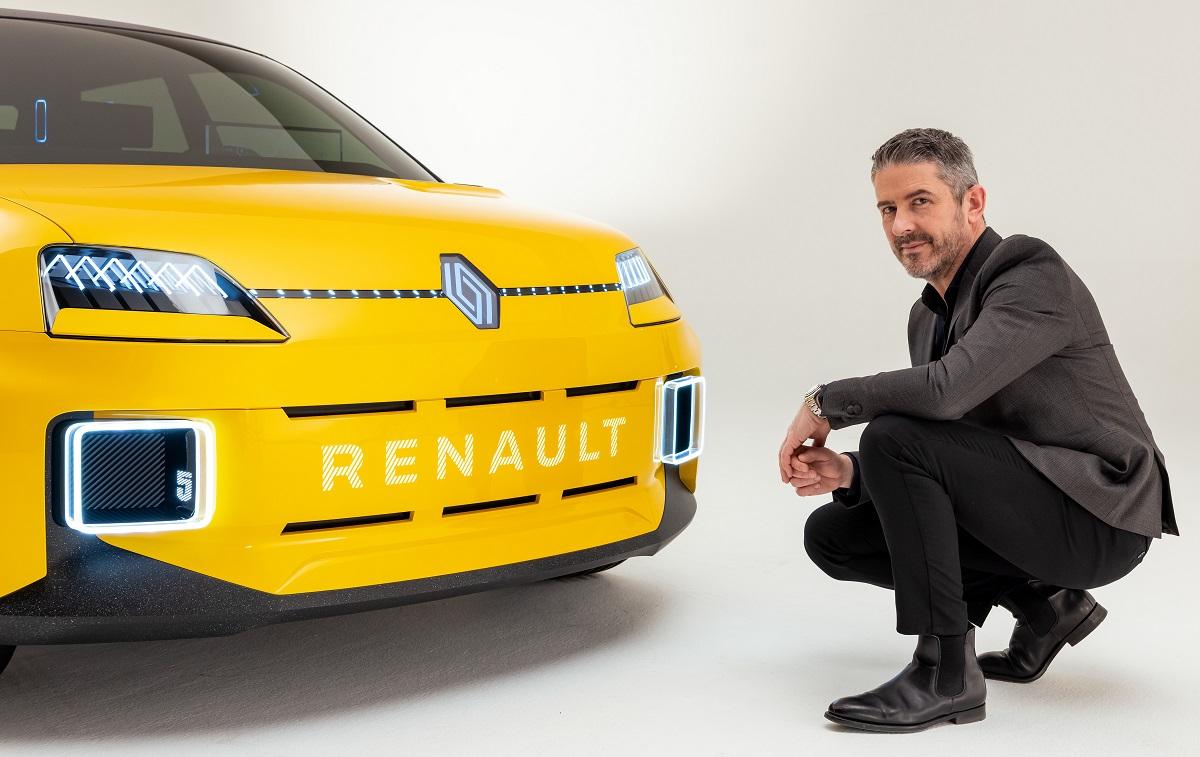 Gilles Vidal, Directeur du Design Renault, parle du nouveau logo - Algérie