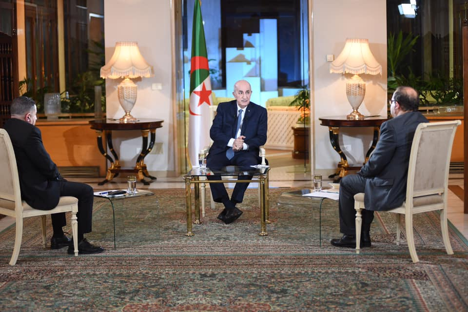 Abdelmadjid Tebboune: «l'Algérie, fini toujours par renaître de ces cendres» - Algérie