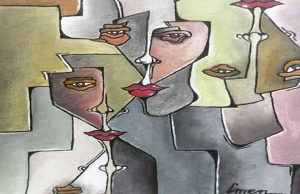 Imène Lamamri au 6e Symposium d'art de Paris - Algérie