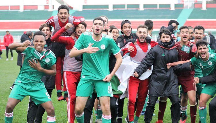 EN U17 : la sélection dès le 6 mars au Maroc - Algérie