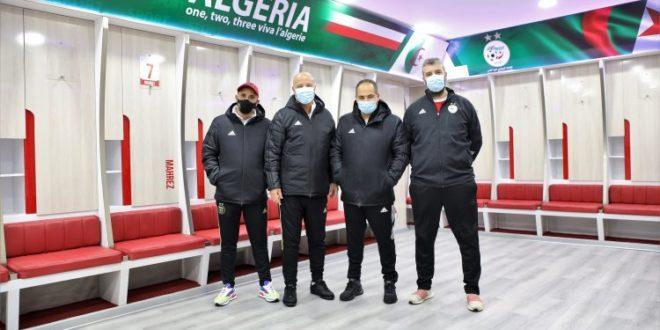 Equipe nationale:Visite du staff médical au stade Mustapha Tchaker - Algérie