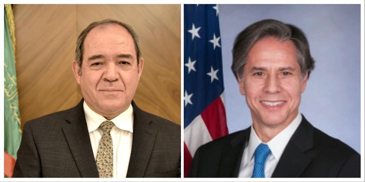 Algérie-USA : Boukadoum s'entretient par téléphone avec Blinken - Algérie