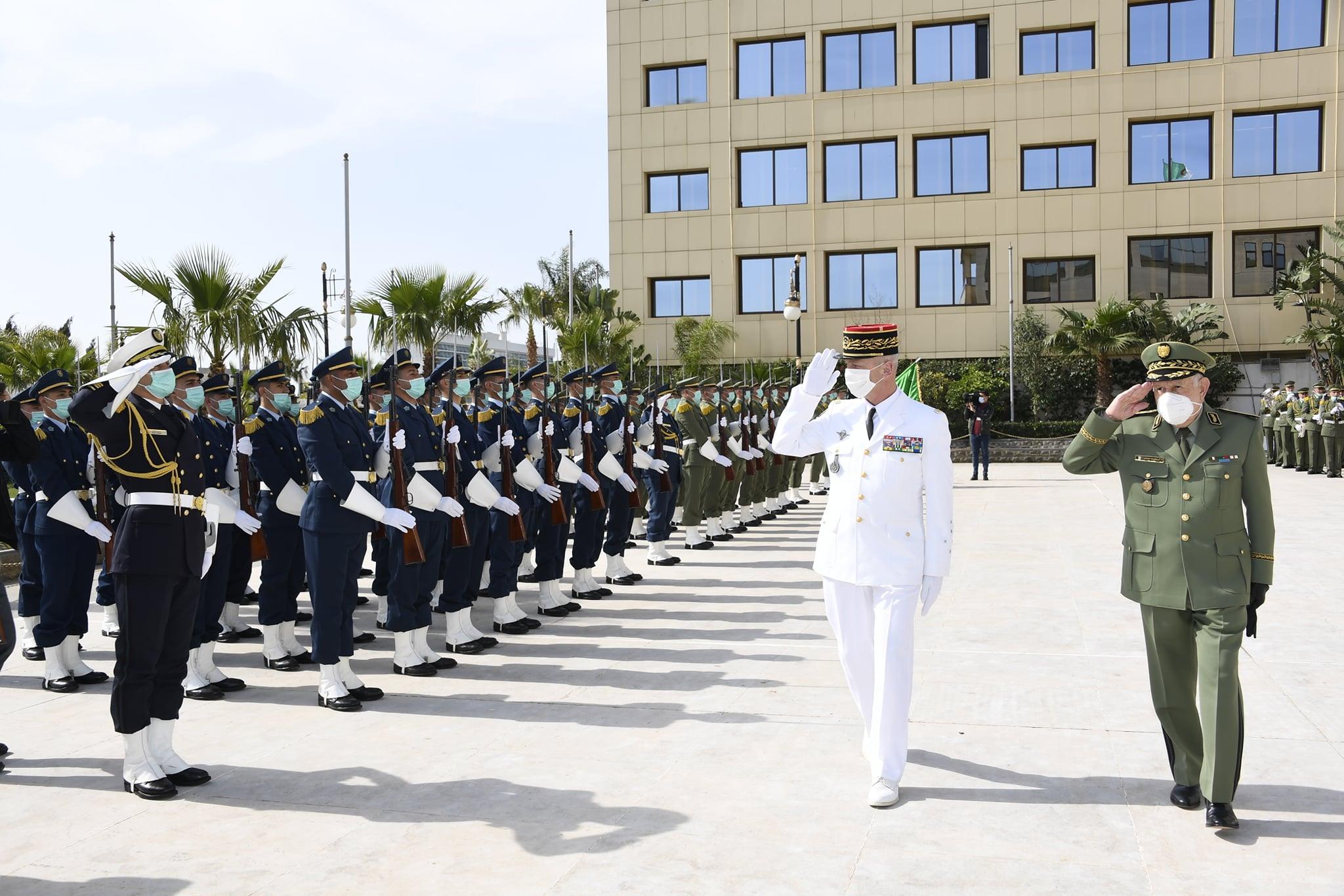 Coopération militaire algéro-française:  Saïd Chengriha reçoit le chef d'état-major des Armées françaises - Algérie