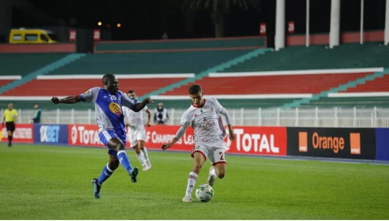 Foot/ Ligue des champions (GR. B – 5e journée) : victoire du CR Belouizdad   devant le TP Mazembe (2-0) - Algérie