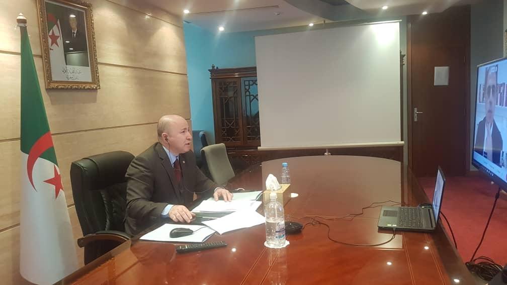 Le ministre des Finances participe à une réunion avec la patronne du FMI - Algérie