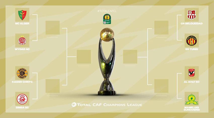 Tirage au sort des 1/4 de finale de la ligue des champions: ce sera MCA-WAC (Mar) et CRB-EST (Tun) - Algérie