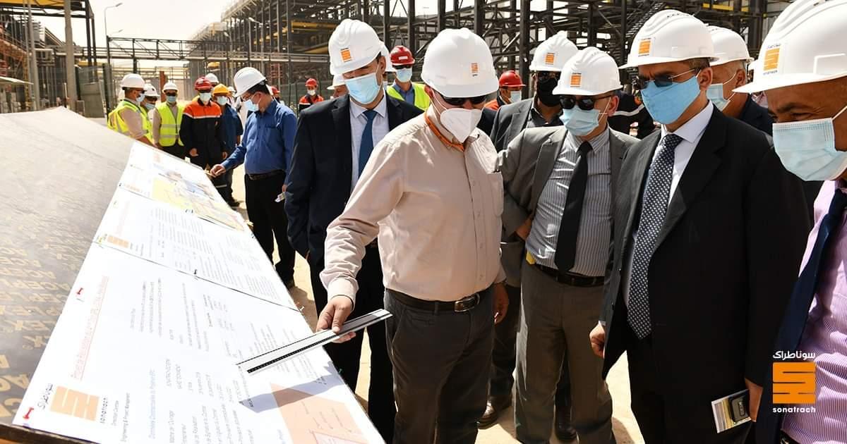 En visite à Ouargla, le PDG de Sonatrach inspecte plusieurs projets - Algérie