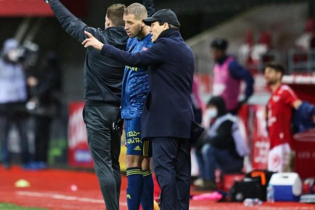 OL : Rudi Garcia se pose une question au sujet de Slimani - Algérie
