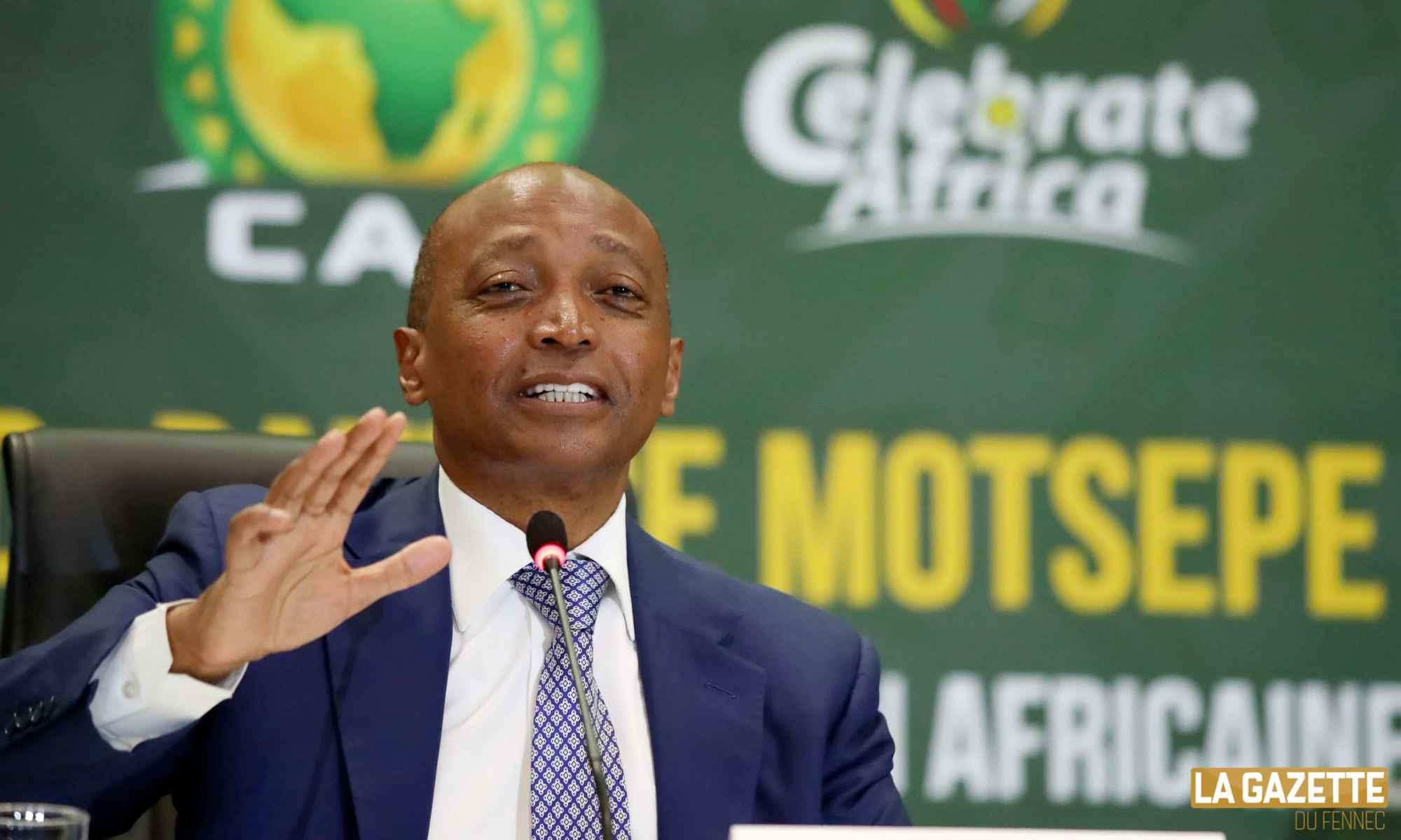 Patrice Motespe. président de la CAF : «Rendre le foot africain parmi les meilleurs au monde» - Algérie