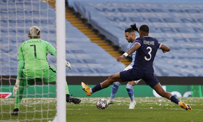CL : Le match de Mahrez en images - Algérie