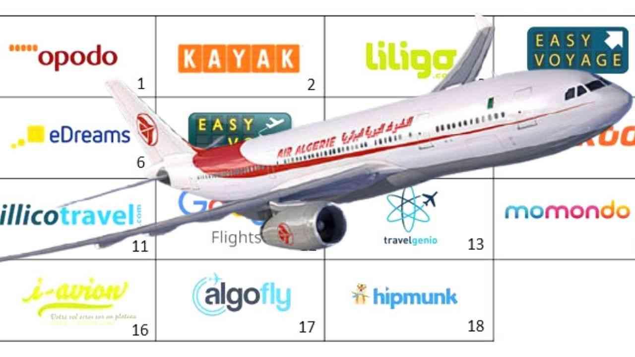 Billet Air Algérie, Transavia, Air France : Meilleurs comparateurs de prix - Algérie