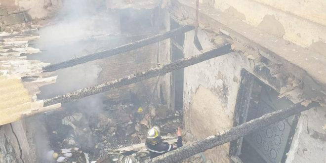 Plus de peur que de mal:Incendie dans un « haouch » à Gambetta - Algérie