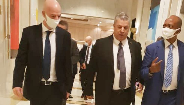 FAF : Charaf-Eddine invite Infantino à Alger - Algérie