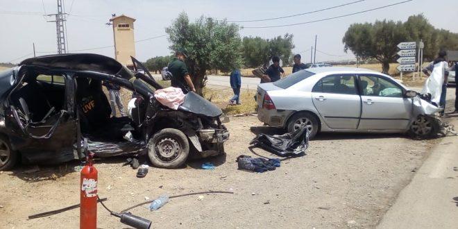 Sur la RN 95 reliant Téssala à Bel Abbés:9 morts et 17 blessés sur les routes en une semaine - Algérie