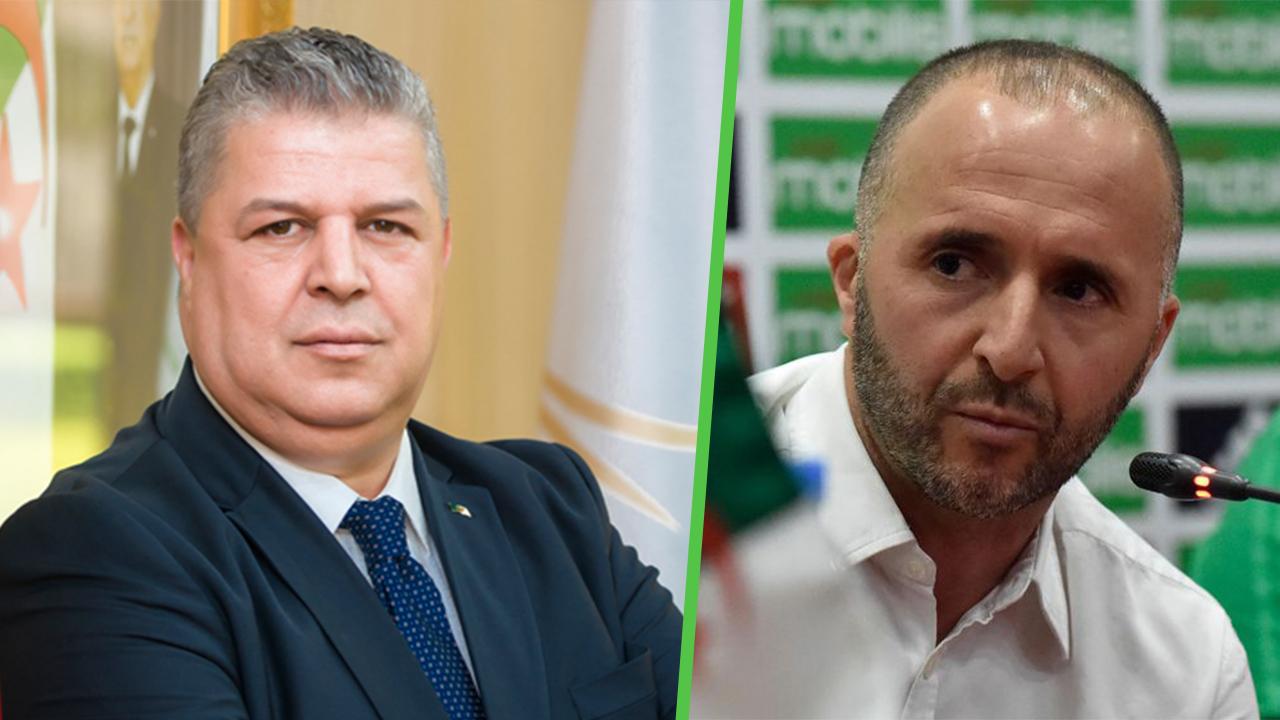 Avenir de Belmadi à la tête des verts : Charaf Eddine Amara s'exprime - Algérie