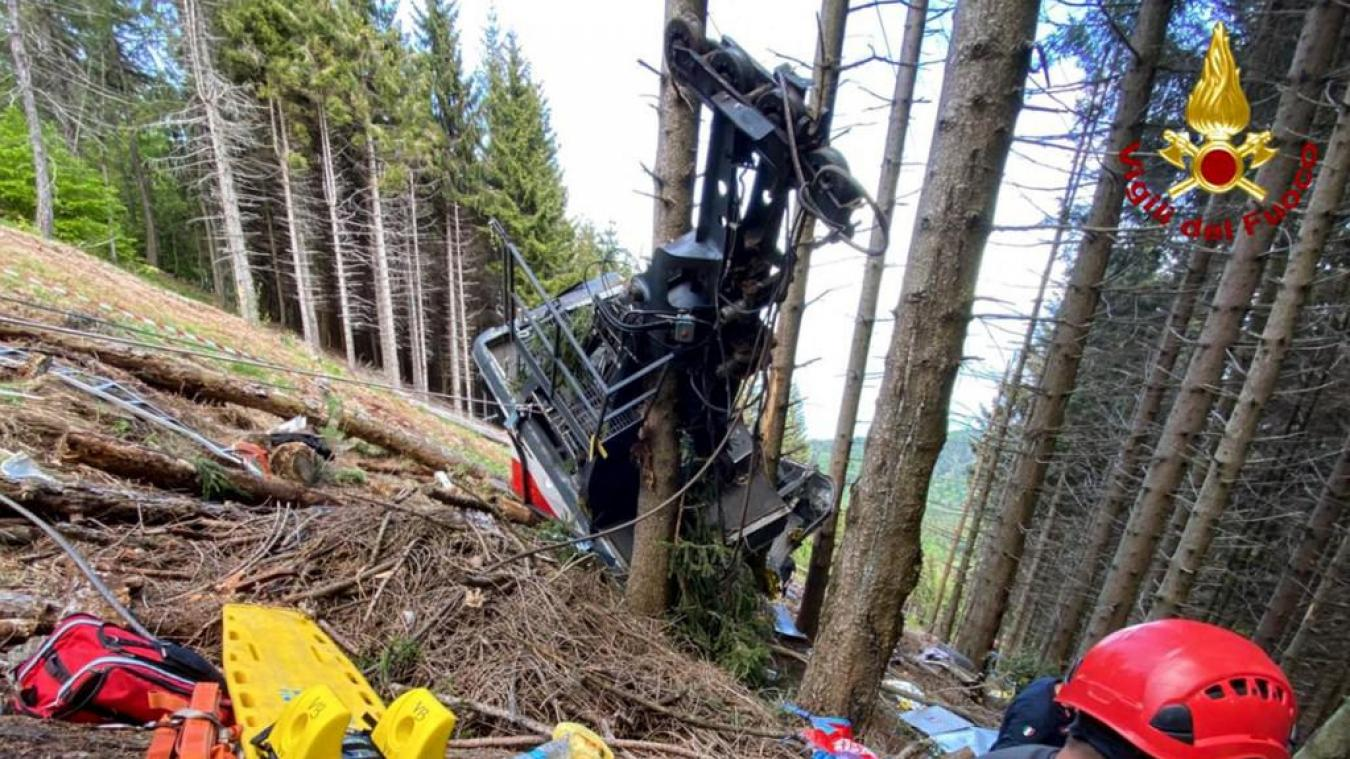 Italie: 12 morts dans la chute d'un téléphérique - Algérie
