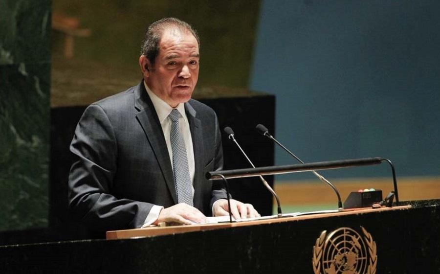 Covid-19: Boukadoum insiste sur la solidarité internationale pour une réponse humanitaire rapide et flexible - Algérie