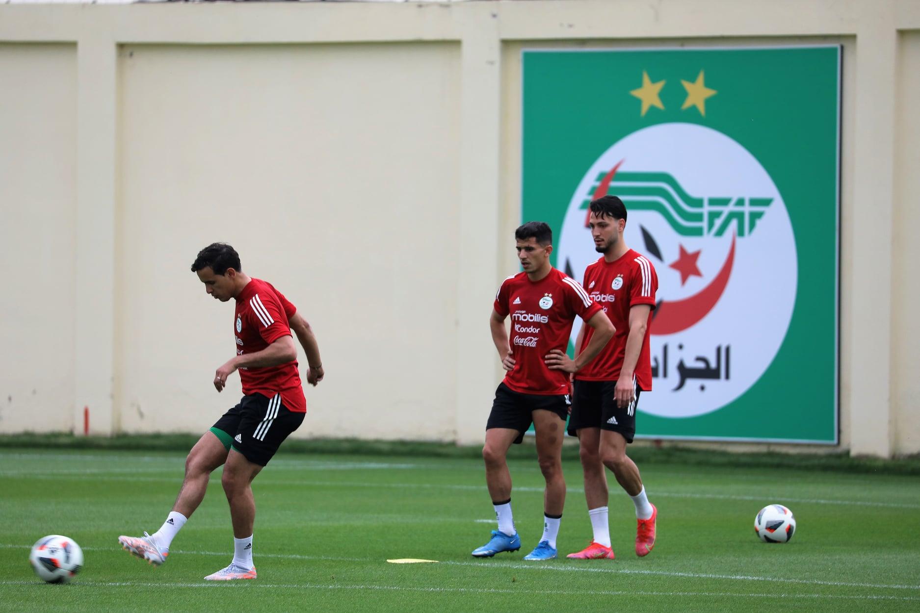 EN : Belmadi,  « Atal démontre beaucoup d'envie » - Algérie