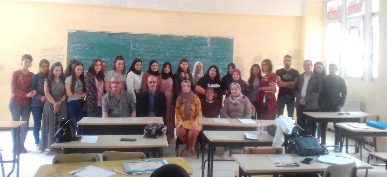 Stage au profit des étudiants d'histoire à l'université de Tizi Ouzou : Apprentissage des pratiques pédagogiques - Algérie
