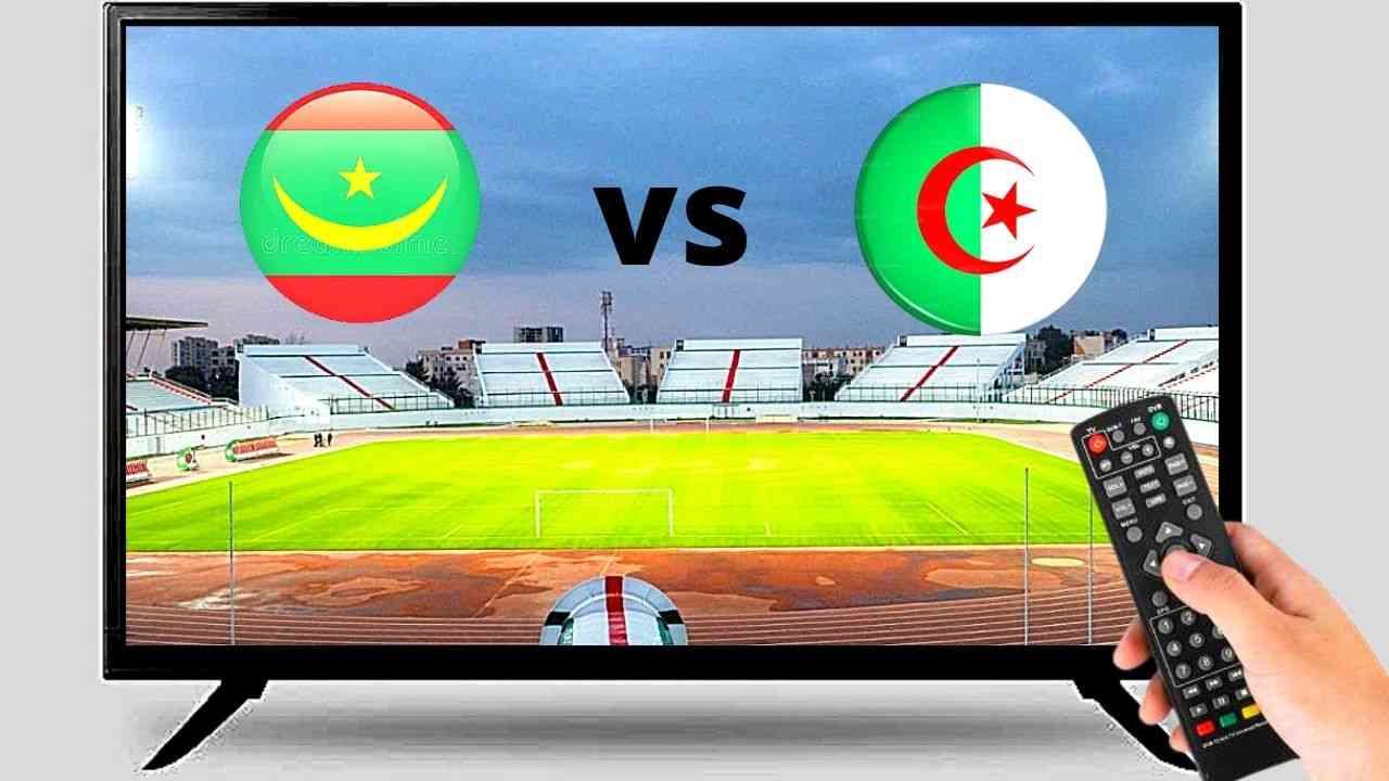 Algérie Mauritanie : chaînes pour voir le match en direct ce 03 juin 2021 - Algérie