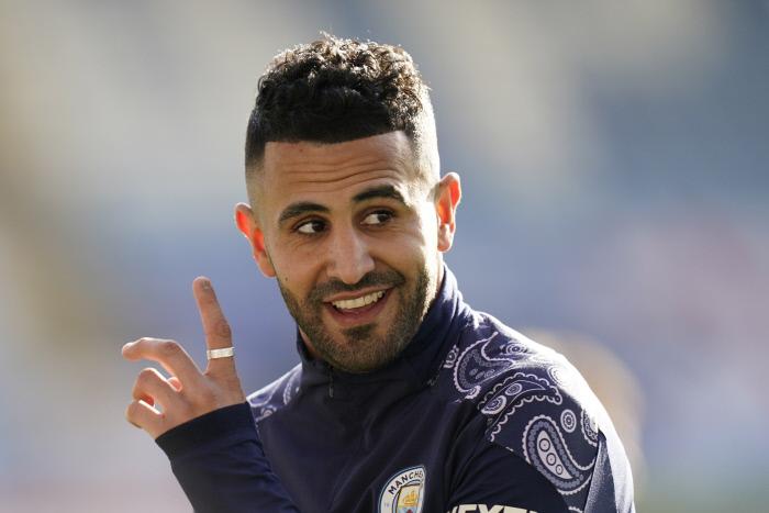 Verts : Mahrez a repris l'entraînement - Algérie