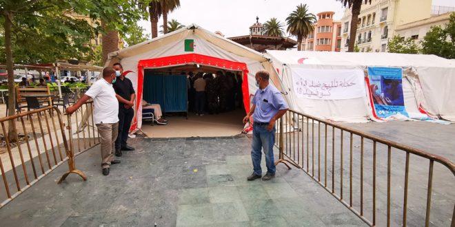 SIDI BEL-ABBÉS:Plus de 150 cas du covid et un prochain protocole sanitaire plus strict - Algérie
