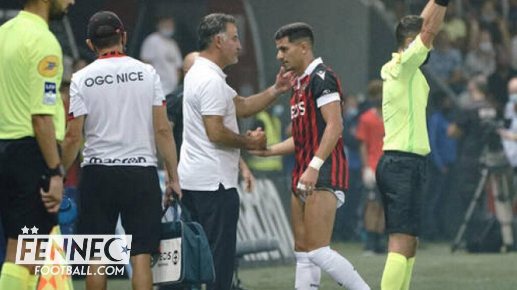Youcef Atal : L'entraineur de Nice Christophe Galtier donne des nouvelles inquiétantes ! - Algérie