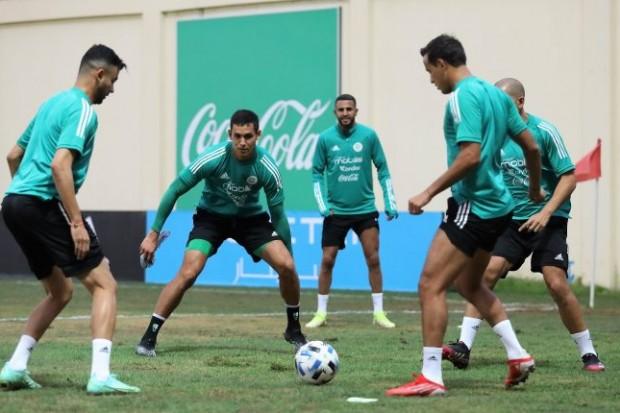 Deuxième séance d'entrainement pour les Verts en préparation du match face à Djibouti - Algérie