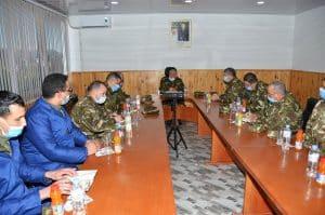 اللواء سليم قريد في زيارة عمل وتفتيش للوحدات التابعة لمديرية الصناعات العسكرية بإقليم الناحية العسكرية الخامسة - الجزائر